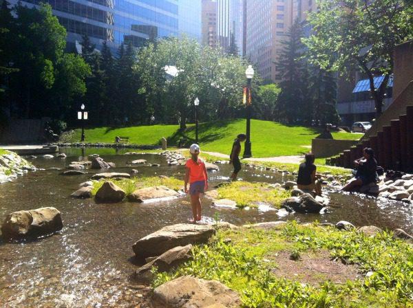 Kicking Around Calgary with Kids