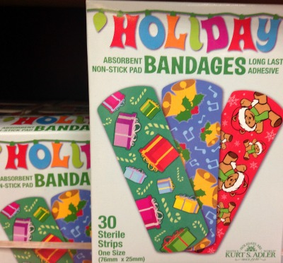 holiday band aids