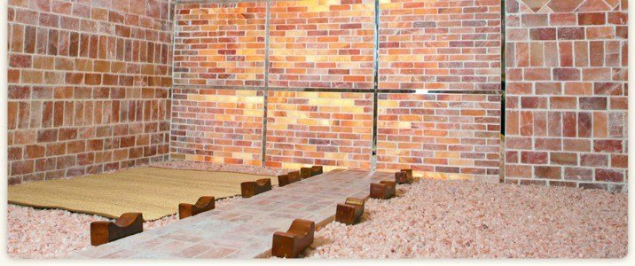 steam room at koreatown spa