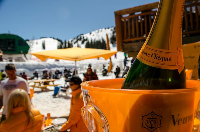 Veuve Clicquot_Sunshine Village Ski Resort 4