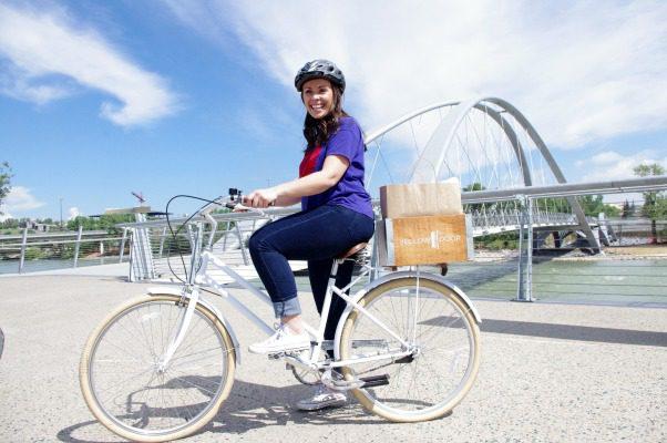 bike by bridge