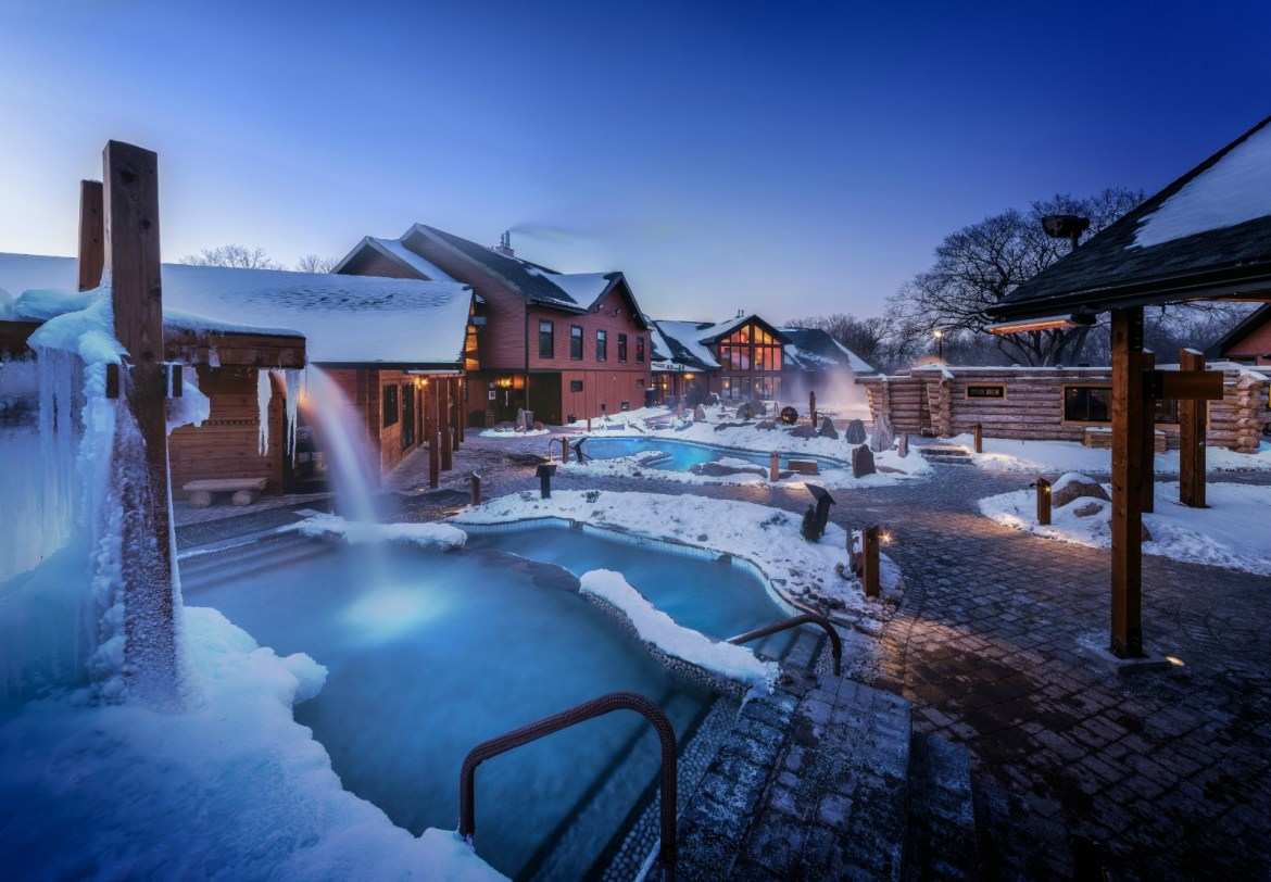 This is why you need to get to Thermea, a Nordic spa in Winnipeg