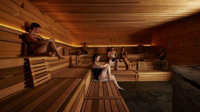traditional finnish sauna