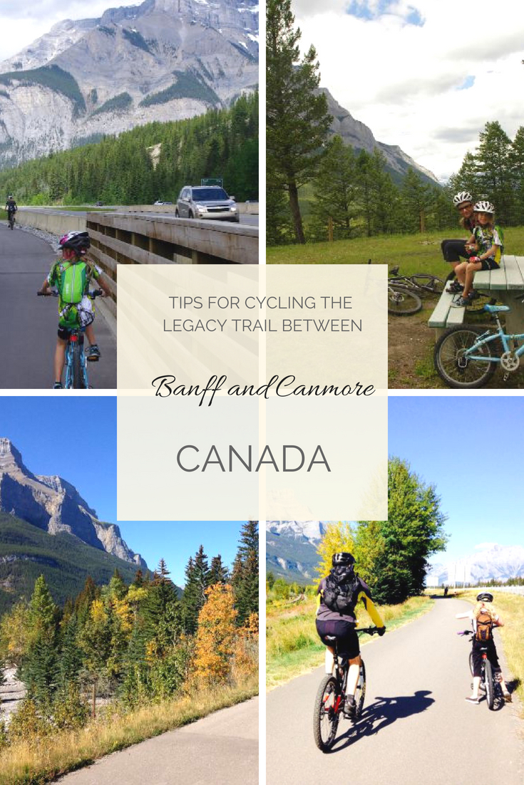 cycling from banff to canmore