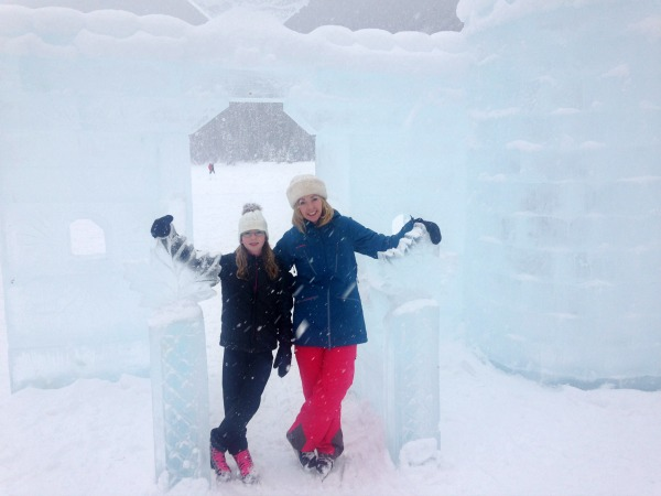 Lake louise ice castle