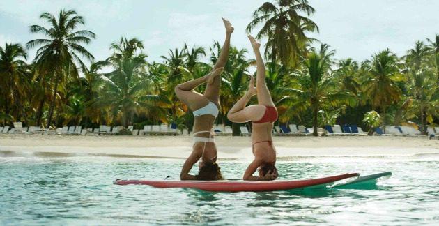headstand surf board