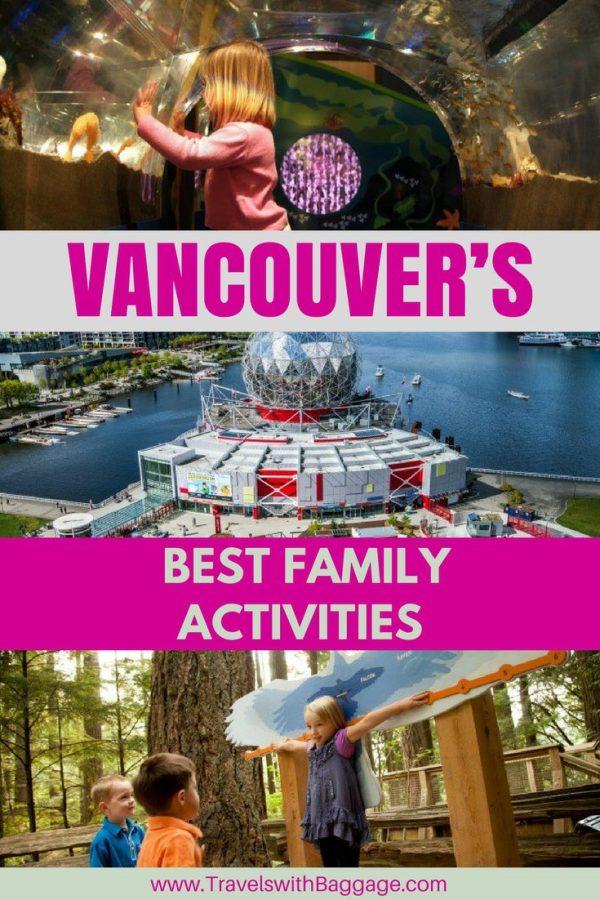 best family activities in Vancouver