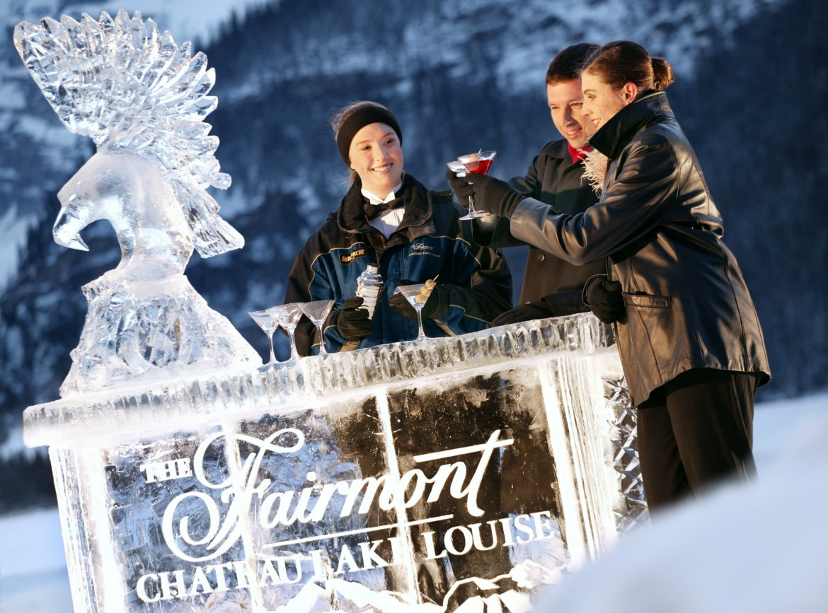 Fairmont Chateau Lake Louise Ice Bar
