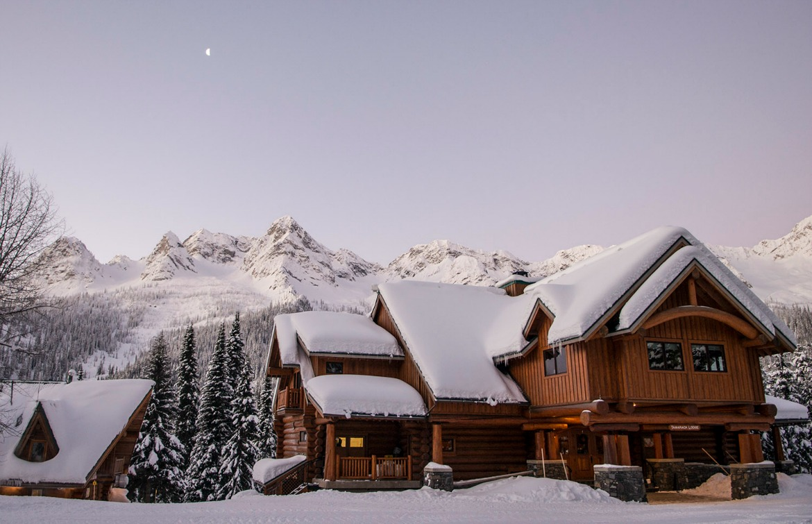backcountry lodge winter