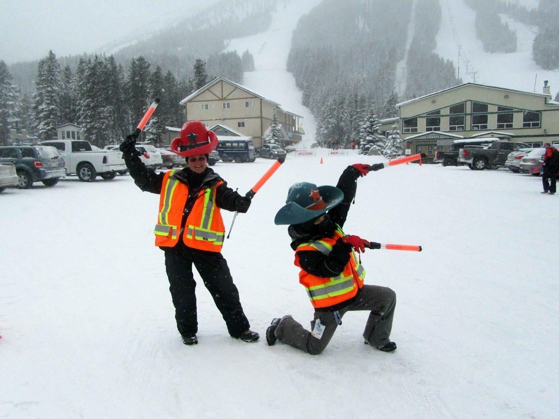 skicastle parking lot attendants