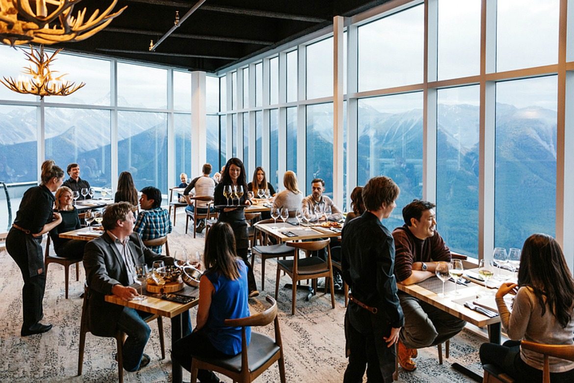 Mountain observatory bistro