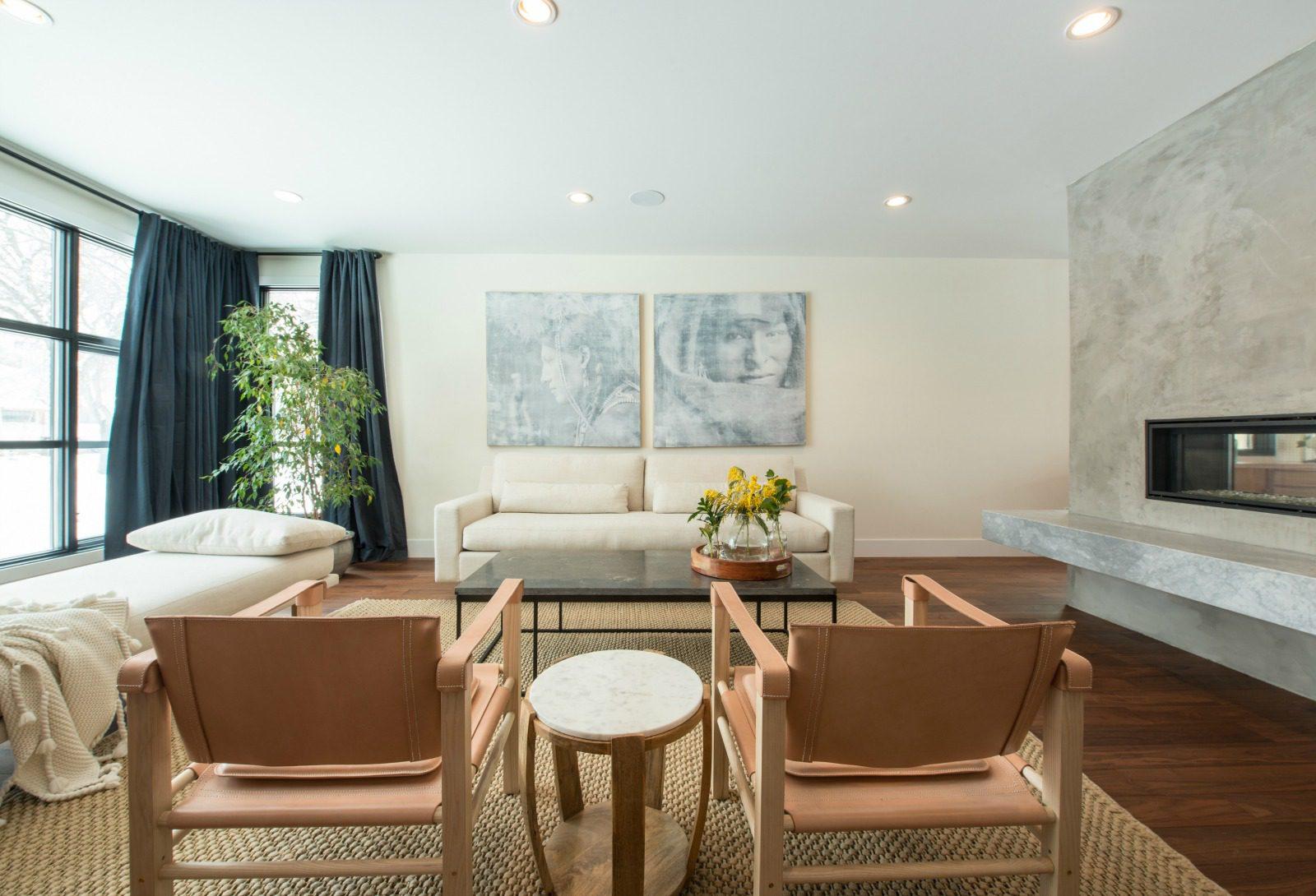 Inside a modern Edmonton home designed on a strict budget