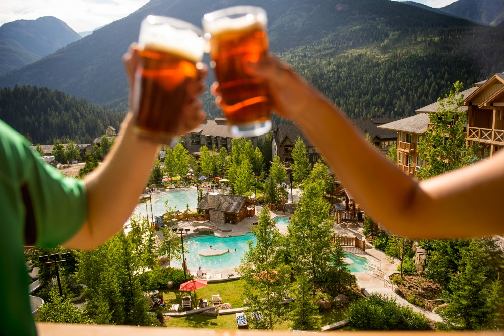 beer mountains outdoor pool