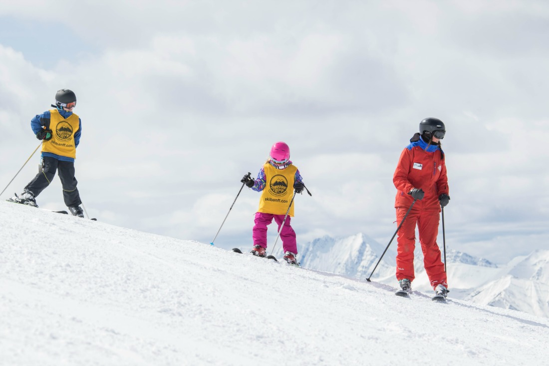 Banff ski lessons: Where to find the best one