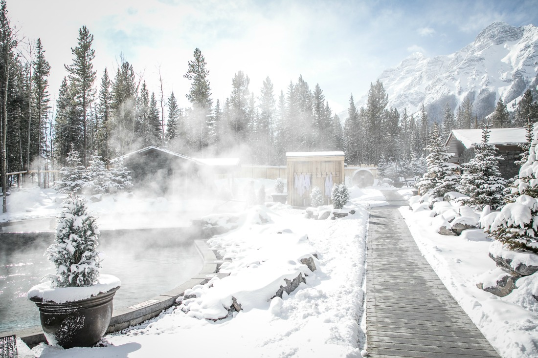 Run, don't walk to Kananaskis Nordic Spa - the first nature spa in Alberta
