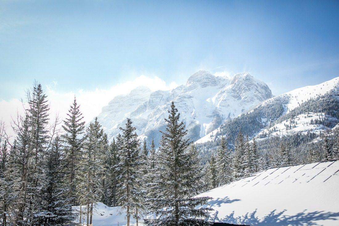 Mount Kidd winter Kananaskis
