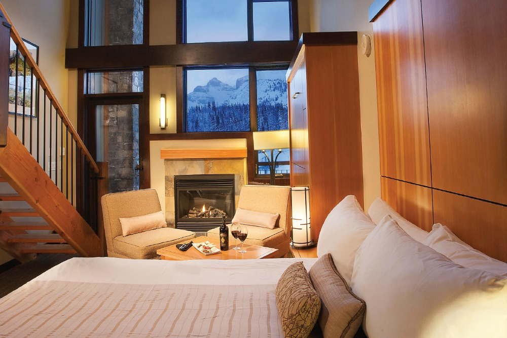 ski resort hotel room