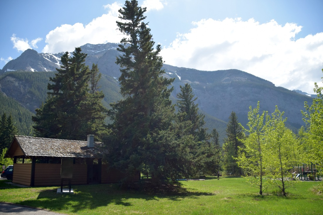 day site camping canmore