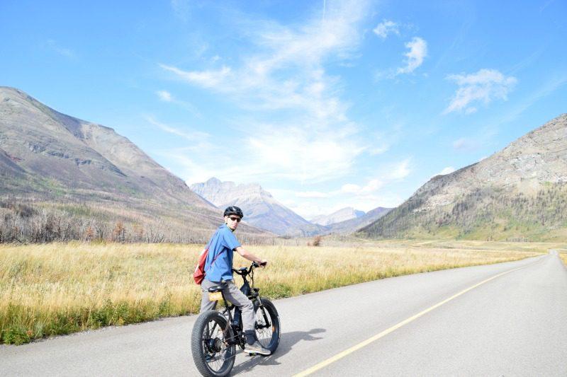 Waterton road biking