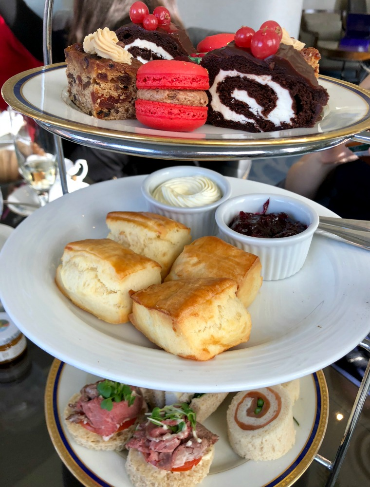 Fairmont palliser afternoon tea