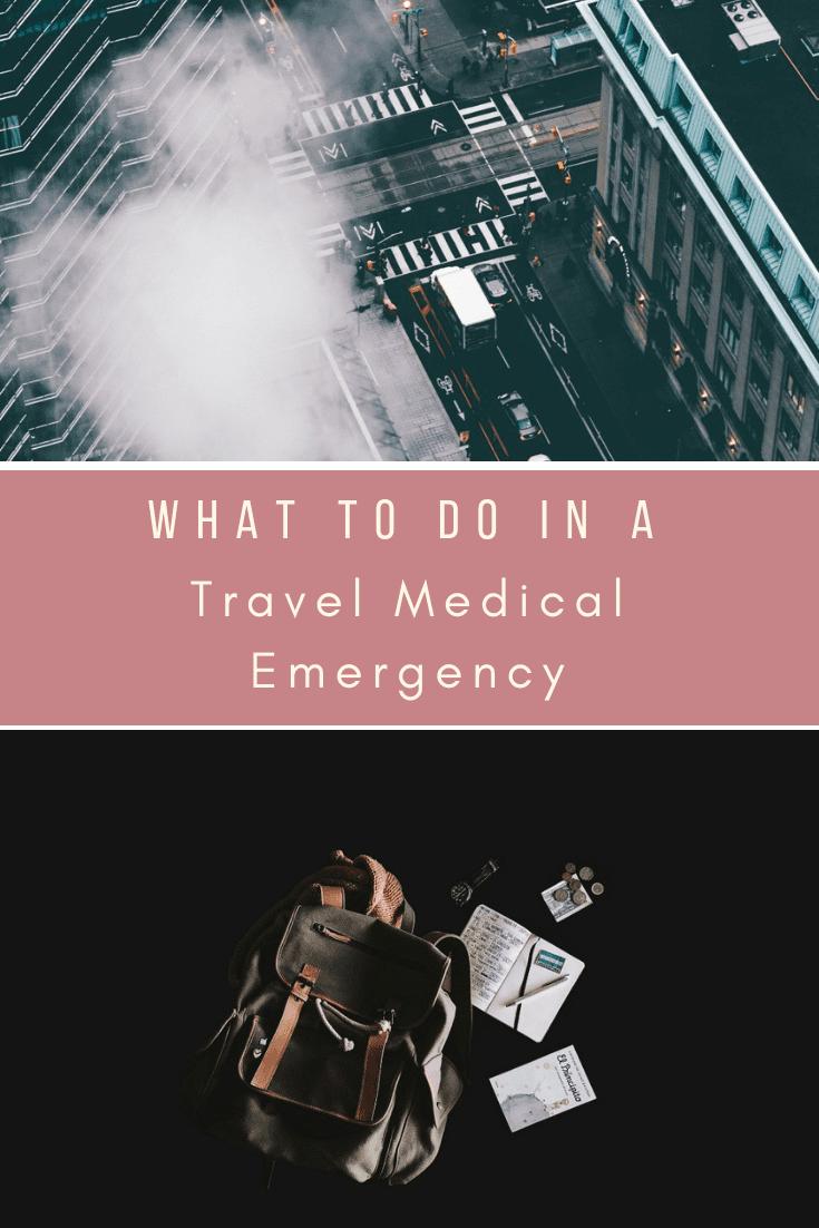 travel medical emergency