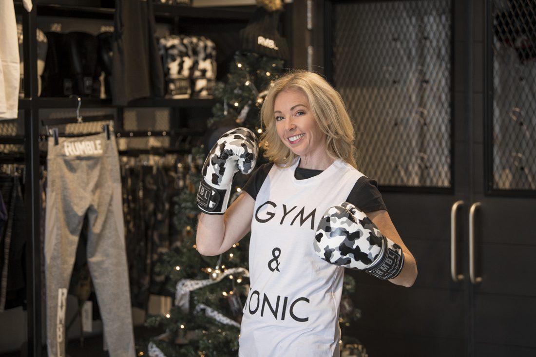 Rumble boxing studio calgary