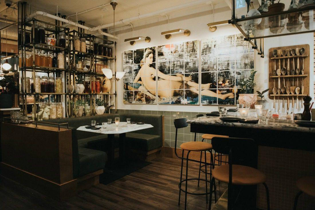 modern italian restaurant interior