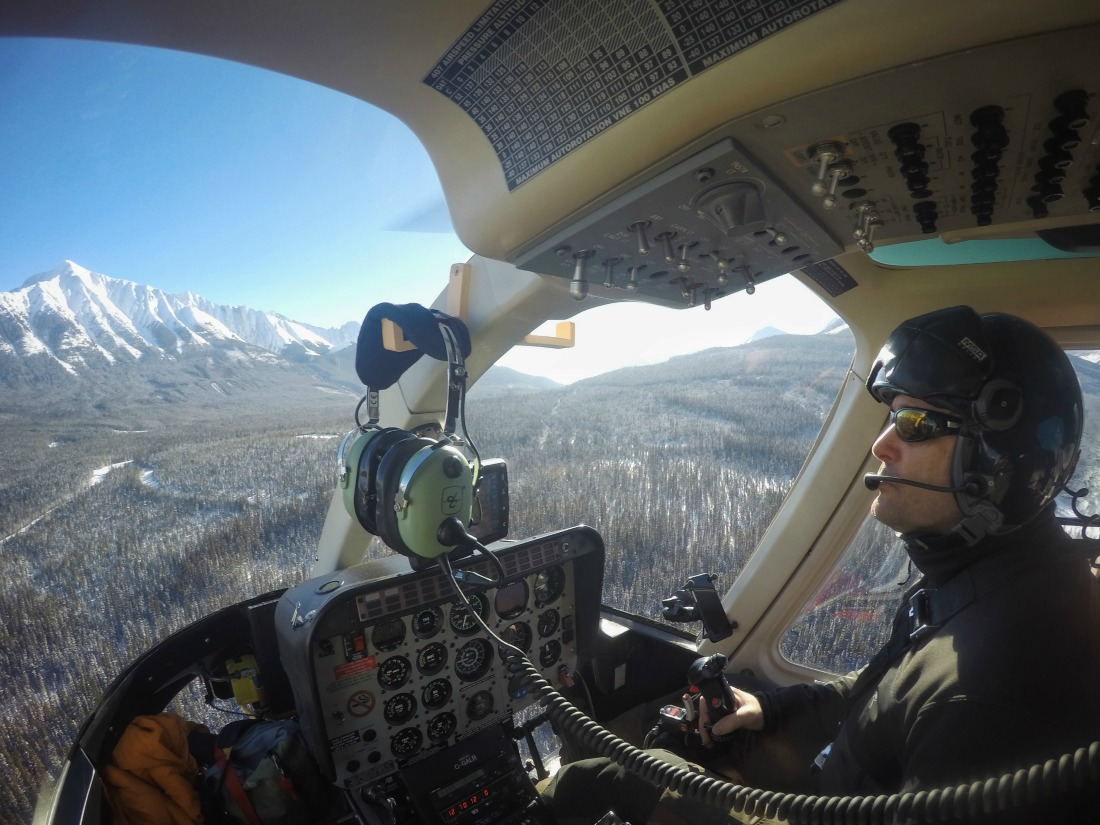 helicopter sightseeing tour banff
