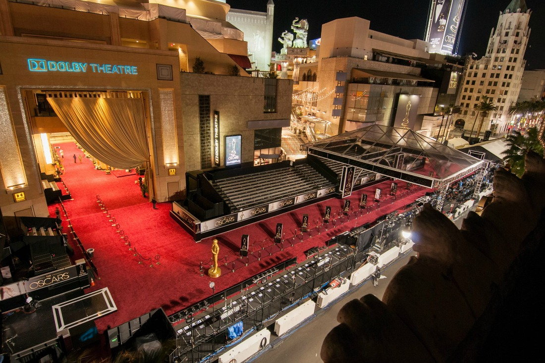 The oscar countdown is on! Here's where to spot celebs in Los Angeles