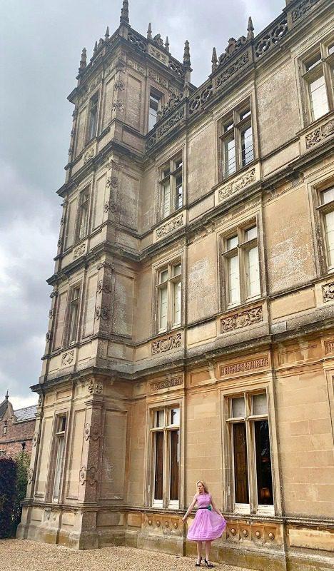 house tour highclere castle