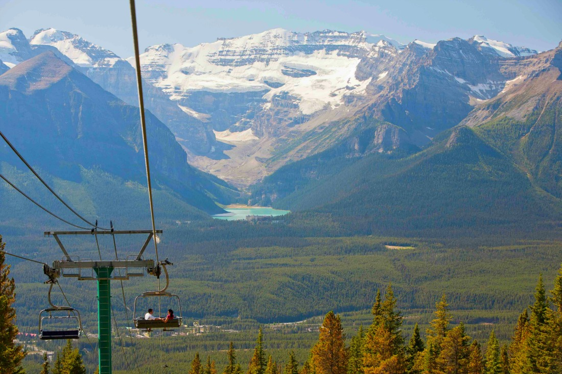 This is why you need to do the Lake Louise Gondola