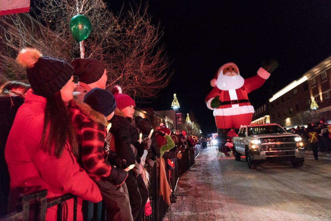 Christmas in Banff Canada