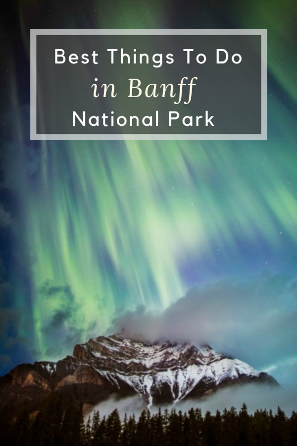 Banff Canada in winter