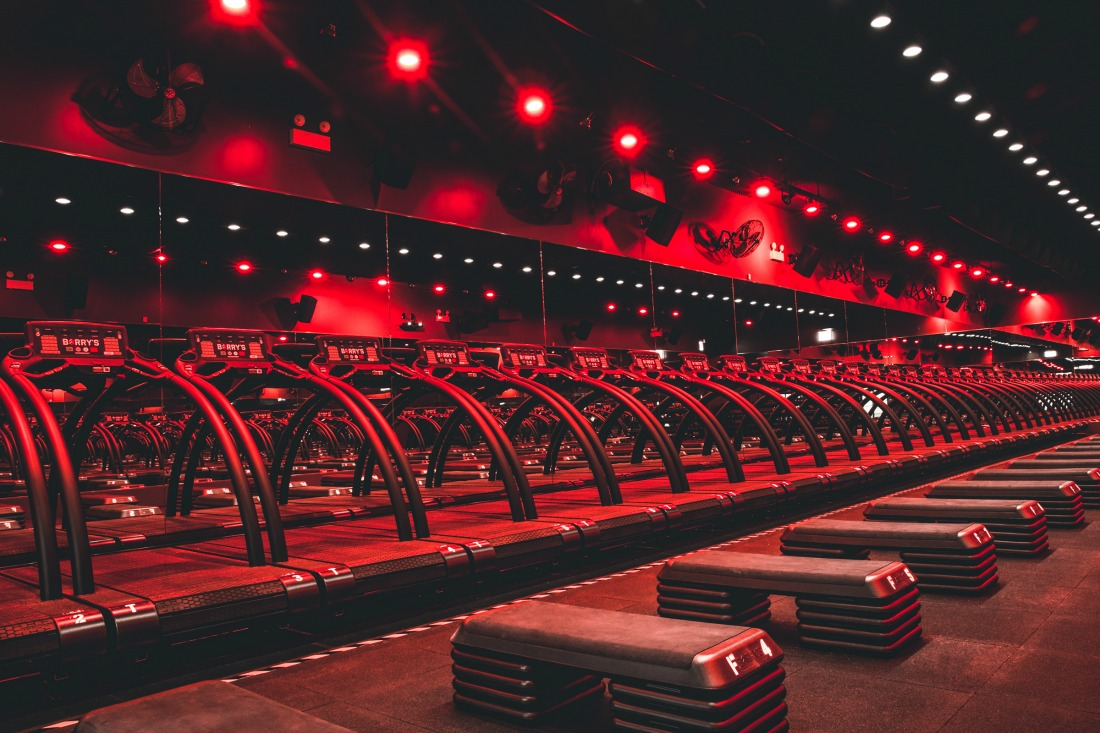barry's bootcamp fitness studio