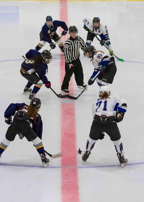womens hockey game