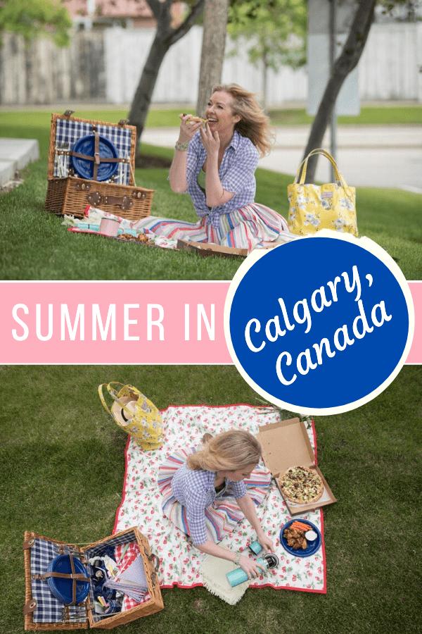 Summer in calgary