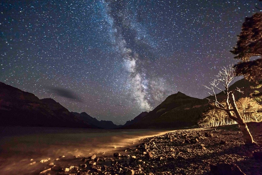 Waterton dark sky park