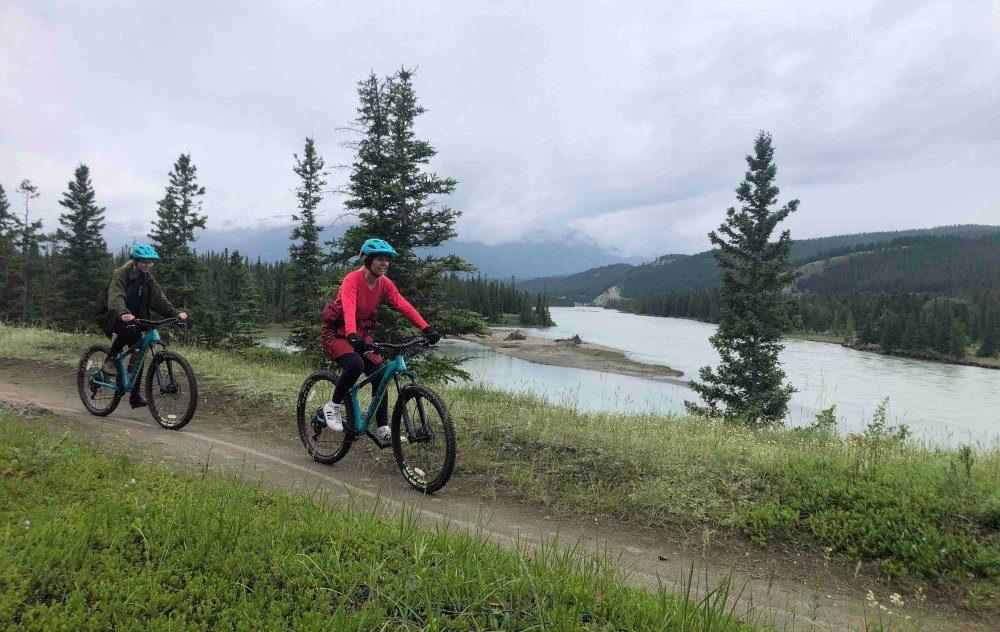 Jasper biking trails