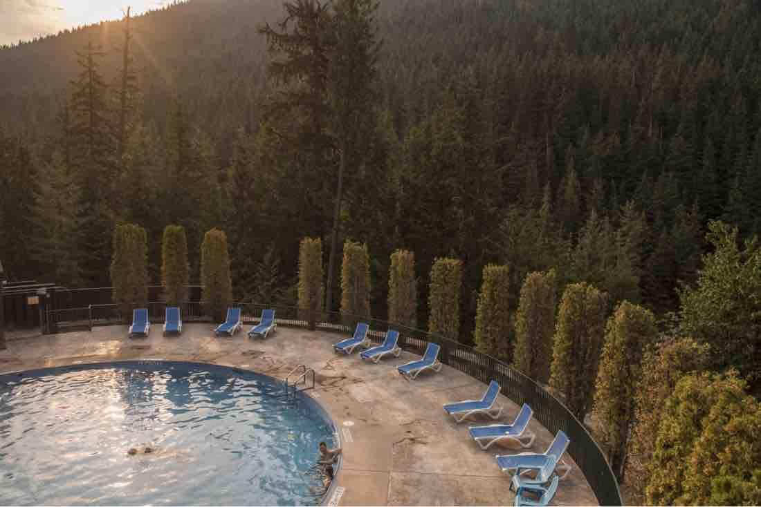 Canadian hot springs