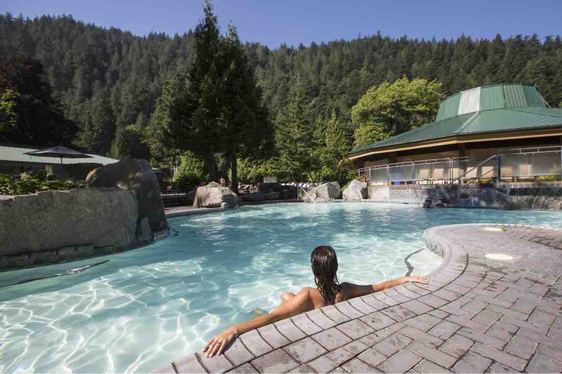 british columbia hot spring
