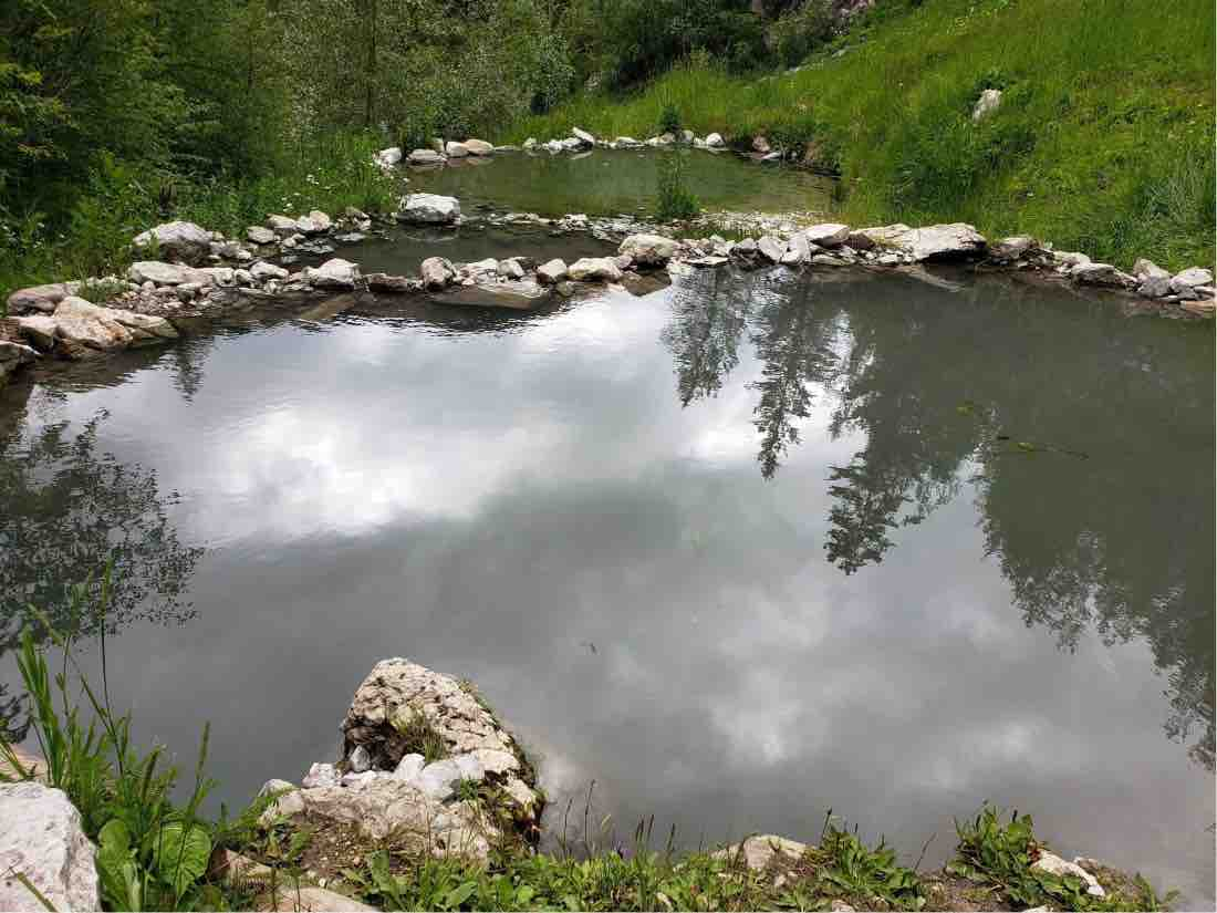 natural hot spring pools
