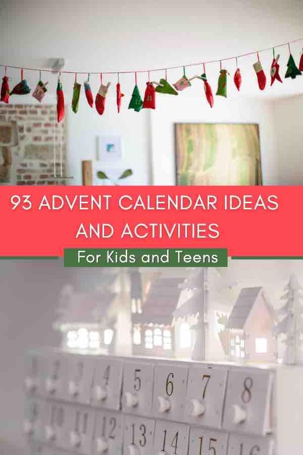 Advent calendar filler ideas