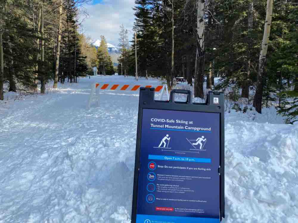 parks canada cross country skiing banff
