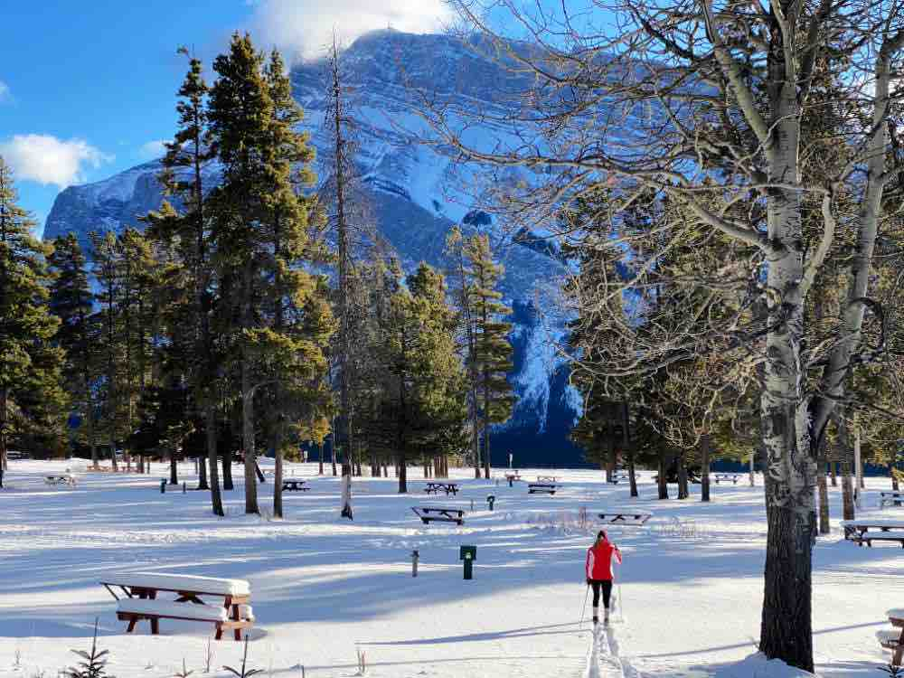 Banff cross country skiing