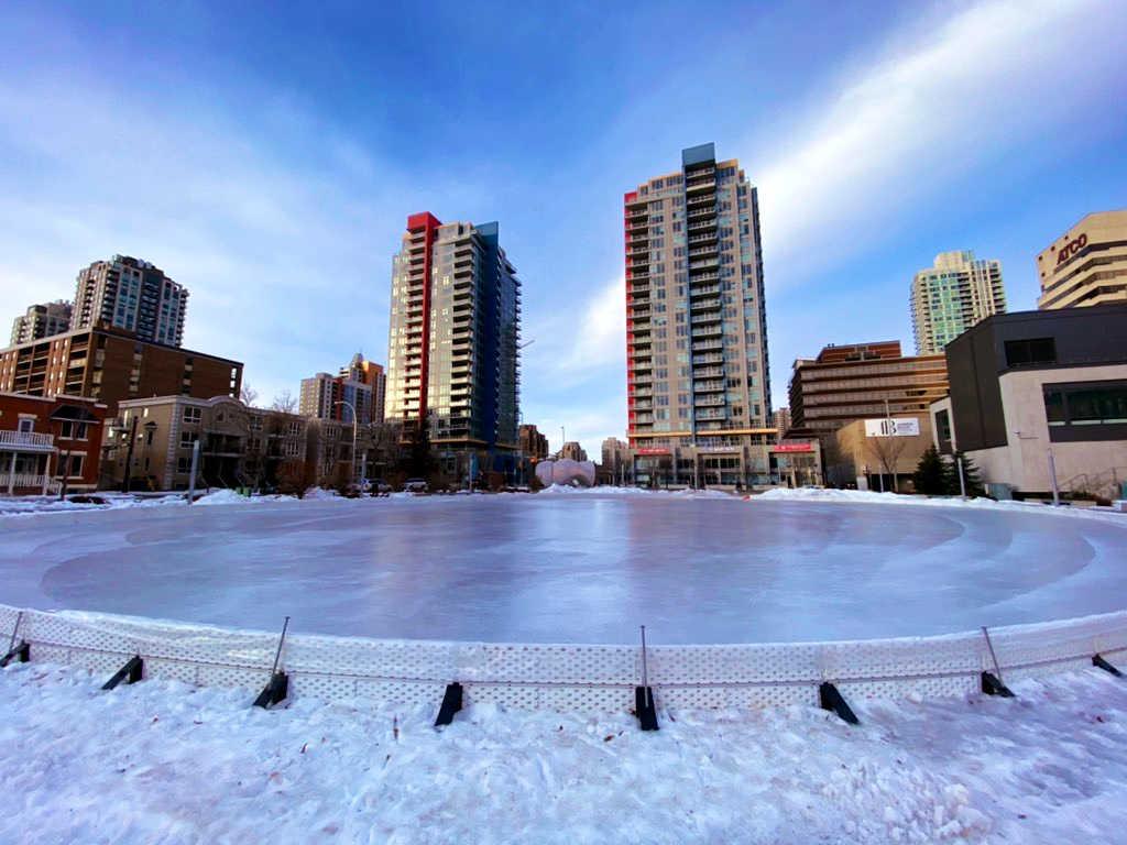 beltline skating rink