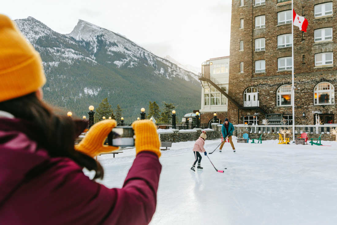 Best places to skate in Banff