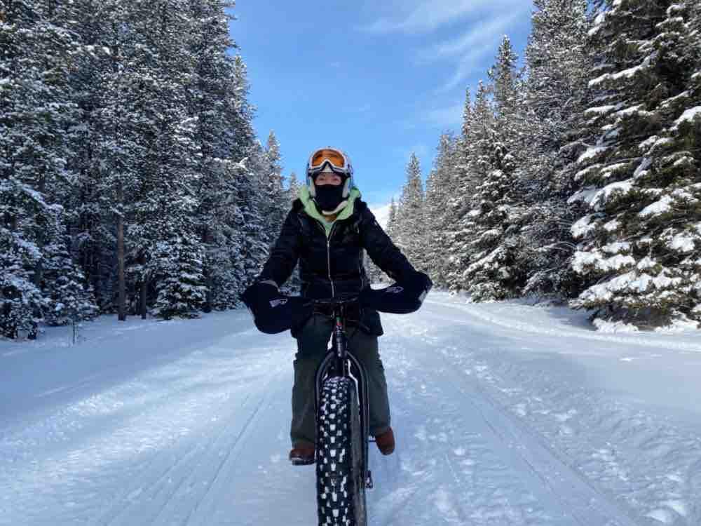 fat biking Allison Chinook