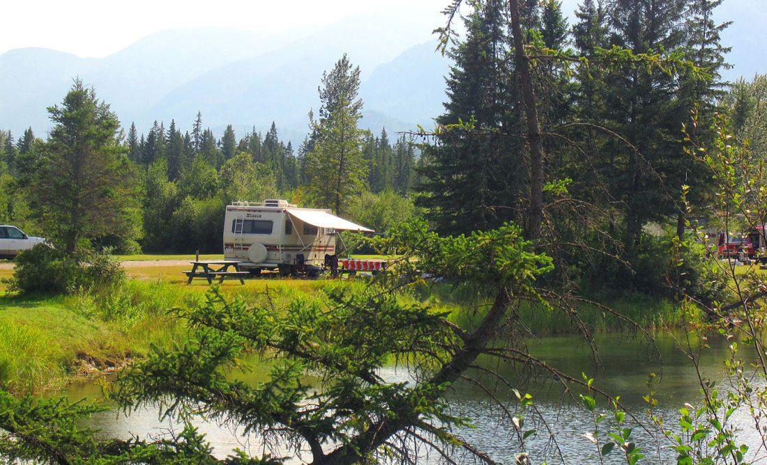 radium camping