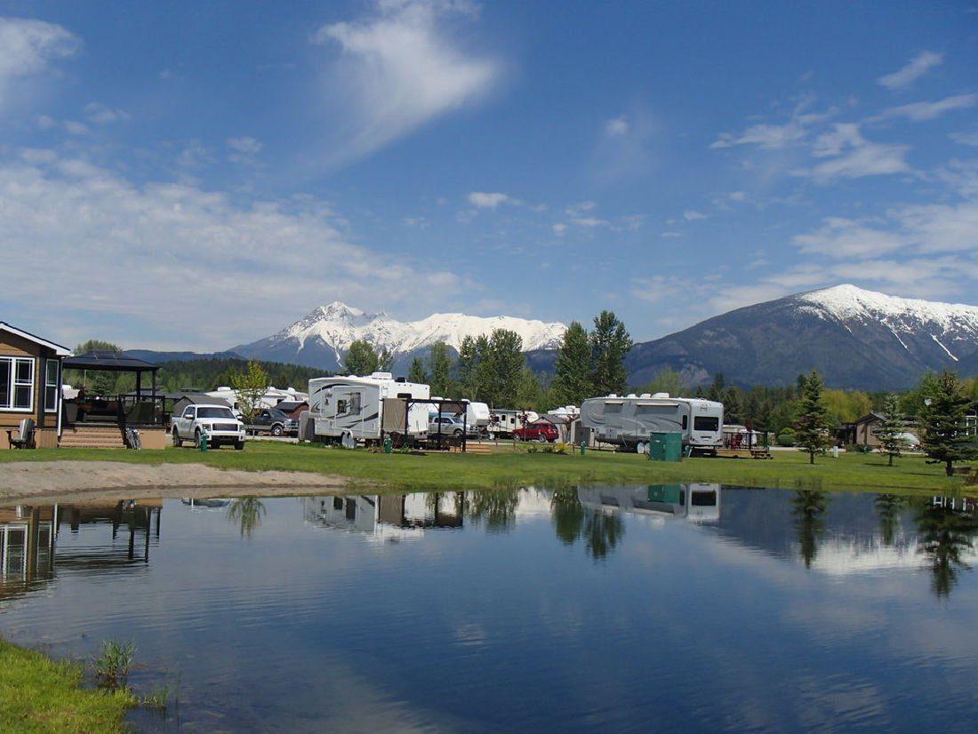 fernie camping