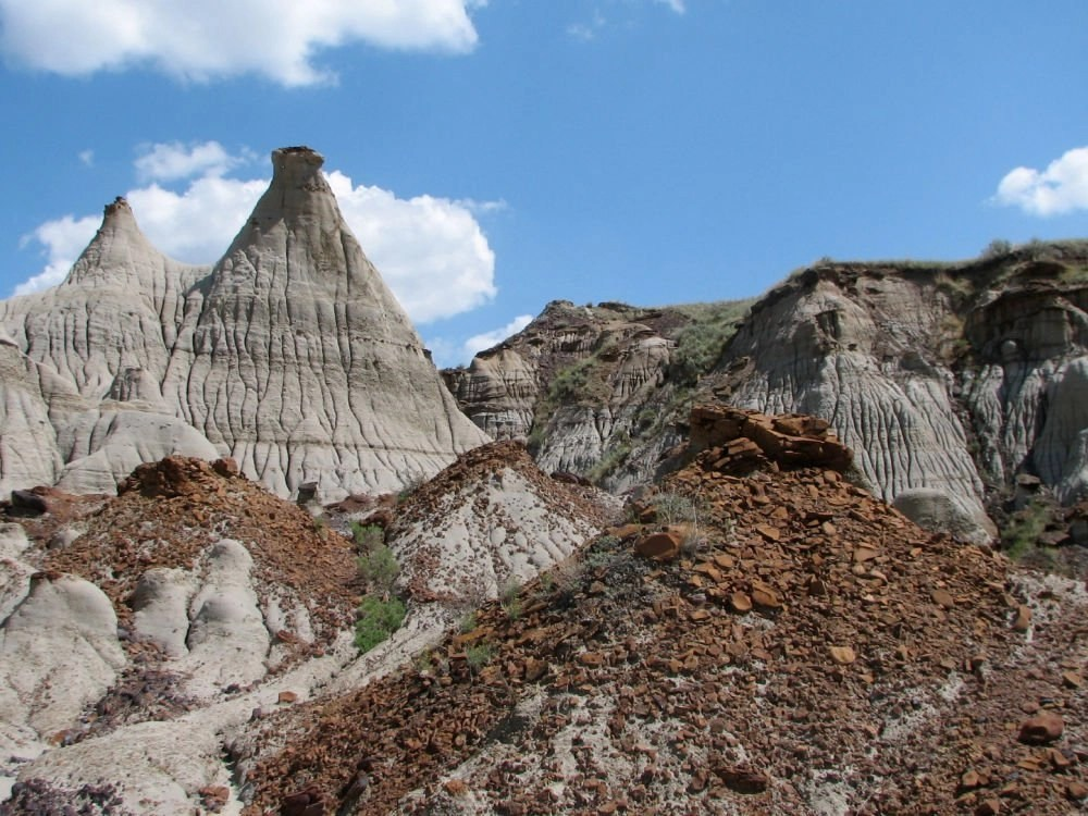 Dinosaur Provincial Park world heritage site